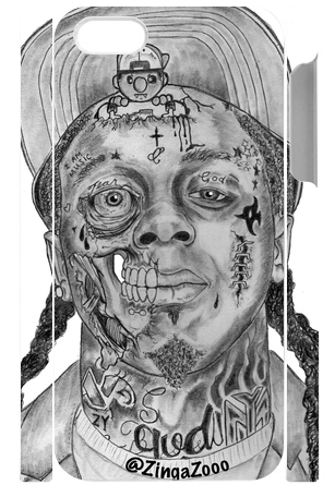 Zombie Tunechi - Cell Phone Cover