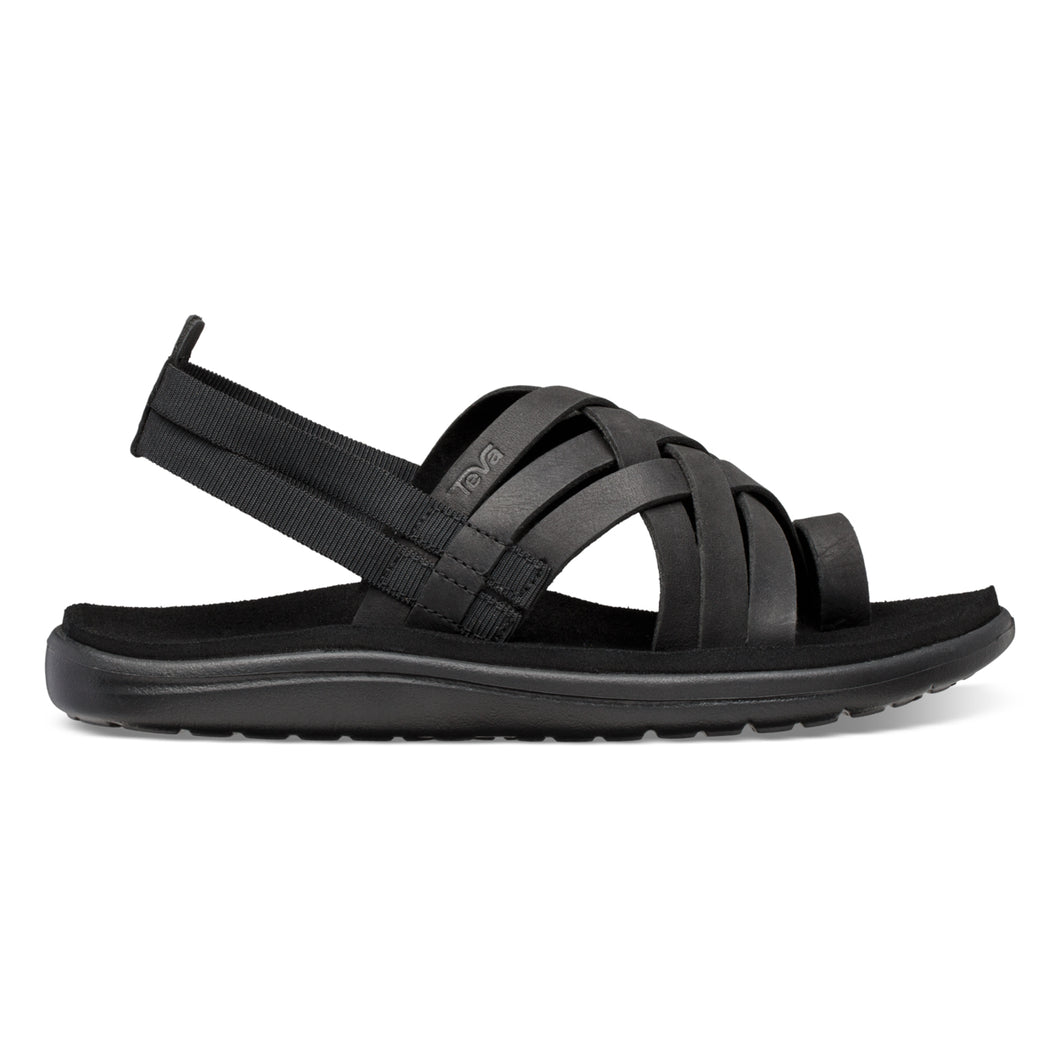 Voya Strappy sort sandal
