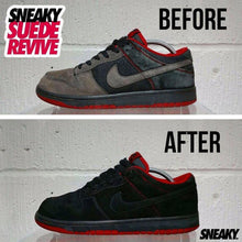 Indlæs billede til gallerivisning Suede Revive (Black) - Sneaky - Lion Feet - Sneaker Restoration