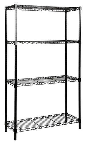 Quantum Black Epoxy Wire Shelving