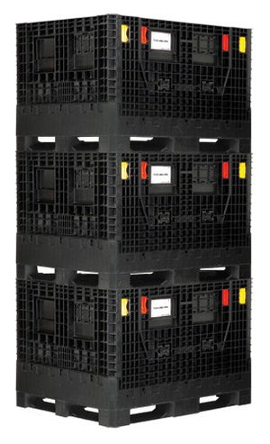 Quantum Collapsible Bulk Box Containers