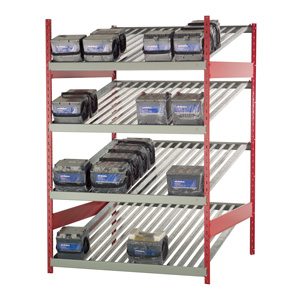 Rousseau Metal Battery Racks