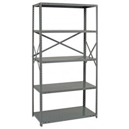 Used Industrial Steel Shelving