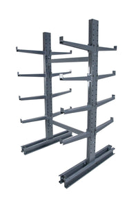 Meco omaha double sided cantilever rack