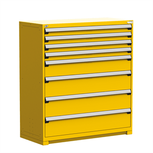 Heavy Duty Stationary Drawer Cabinet