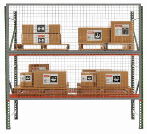 Husky Wire Mesh Pallet Rack Guard