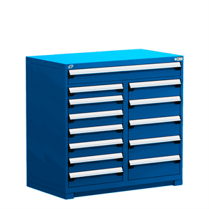 Multidrawer heavy duty toolbox