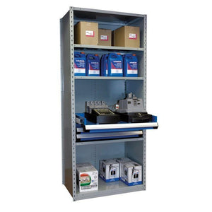 Rousseau Key Cutting Unit with rollout shelf and drawers