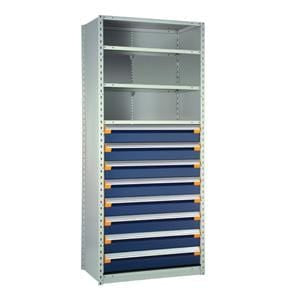 Rousseau Shelving with Drawers Unit R5See-874801