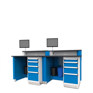 Rousseau Service Advisor Desks Double