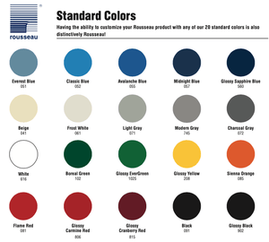 Rousseau Metal Standard Colors