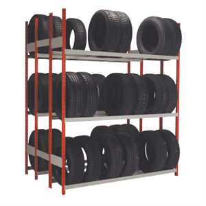 Rousseau Metal Double tire rack