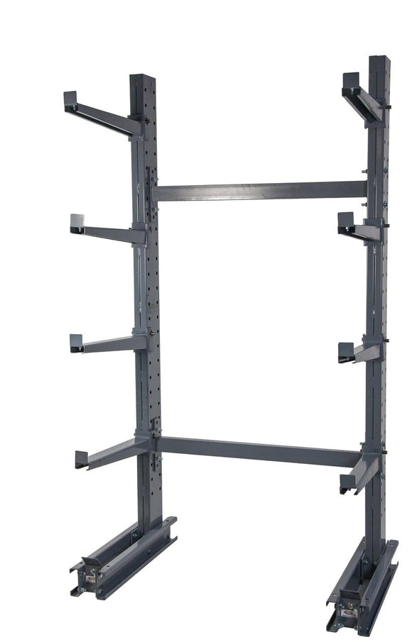 meco omaha grey cantilever rack