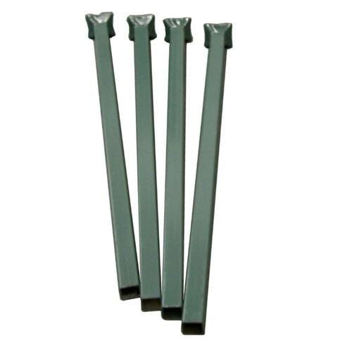 stacking rack posts green