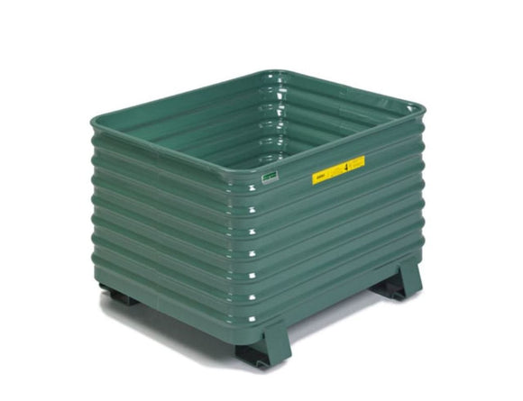 Steel king green corrugated container
