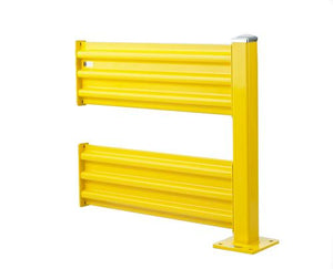 Steel King Double High Guard Rail add on section