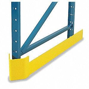 steel king end of row guard, guard dawg for protection against forklift for pallet rack