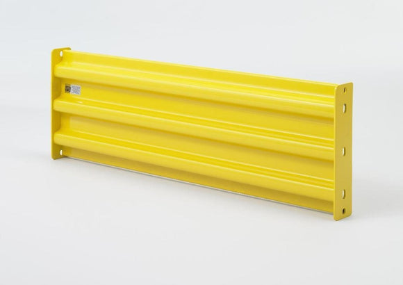 Steel king guardrail yellow