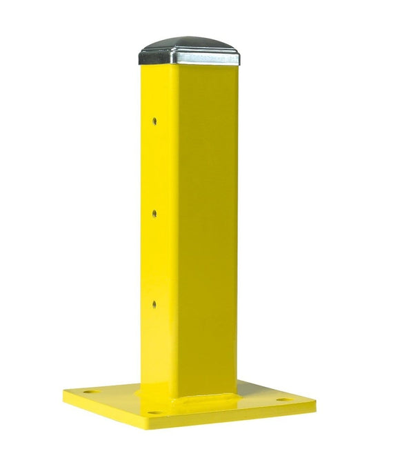 Steel King Guardrail Single High 18 inches tall yellow