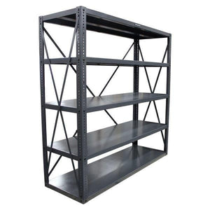 Stronghold Heavy Duty Metal Shelving with 5 shelves