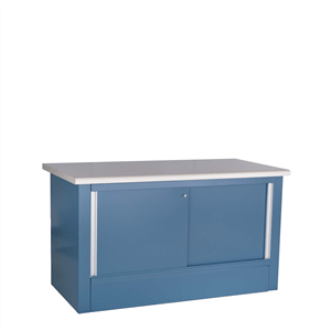 Closed Rousseau Workbench blue
