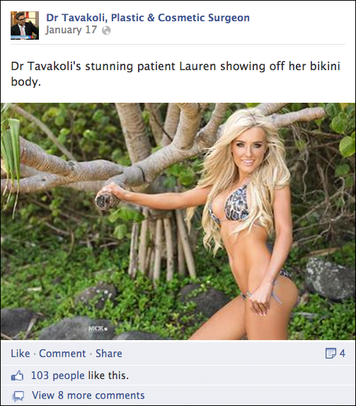 How Sydney's Plastic Surgeons Use Social Media To Get New