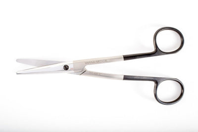 The Cottle Dorsal Scissors by Marina Medical are used for rhinoplasty procedures and have a 16mm supercut angled blade | Precise Medical Supplies