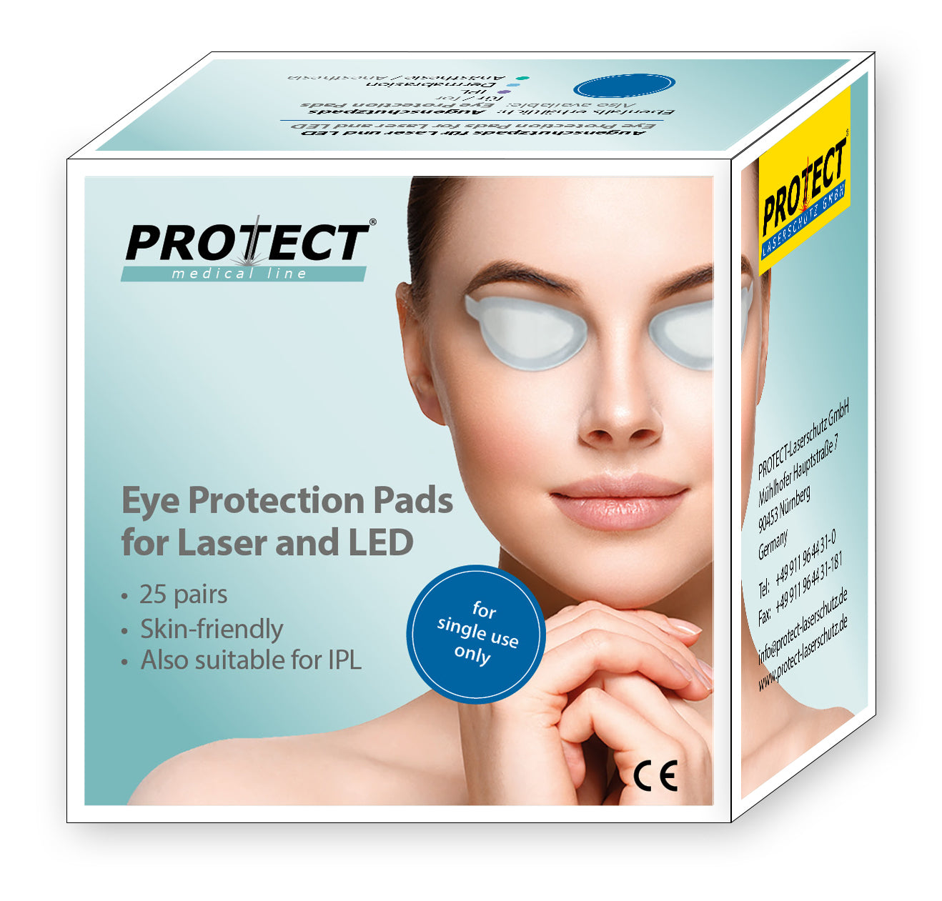 Protect Laserschutz Laser Protective Eyeshields - Box of 25