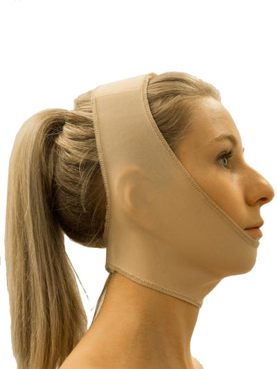 This Chin Strap with Closed Ear is simple to fit with Velcro attachments on the top of the head and base of the neck. One Size Fits All | Precise Medical