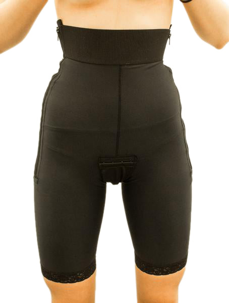 300d830396a2b This Stage 1 girdle made with side zipper AND padded hook   eye closures  allows this