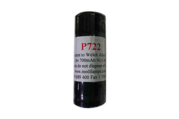 Welch Allyn 72200 Battery Equivalent