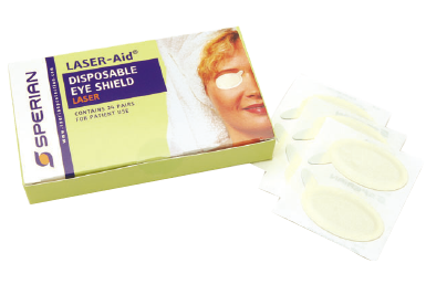 Sperian Laser Aid disposable eye shields (box of 24)