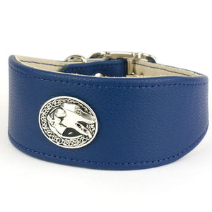 For the Hounds Greyhound & Lurcher Leather Collar