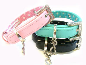 Lovely Leather Dog Collar