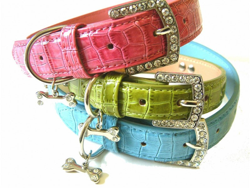Mayfair Leather Dog Collar