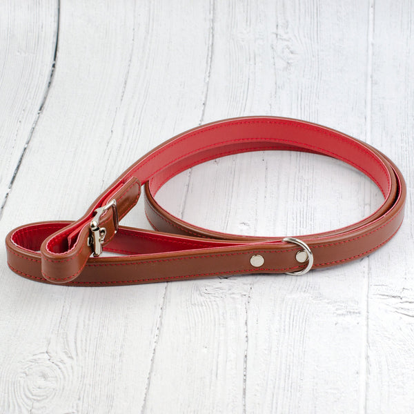 Handmade Leather Buckle Lead