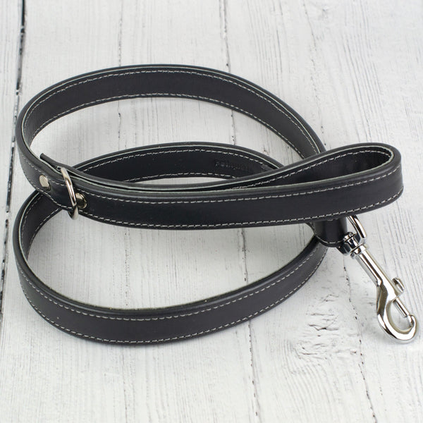 Handmade Italian Leather Dog Lead