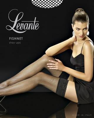 LEVANTE Fishnet Stay Up
