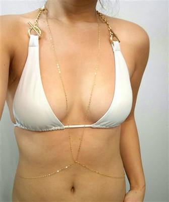 Diana Ho LOW V BODY CHAIN