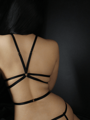 CAGE HARNESS BLACK