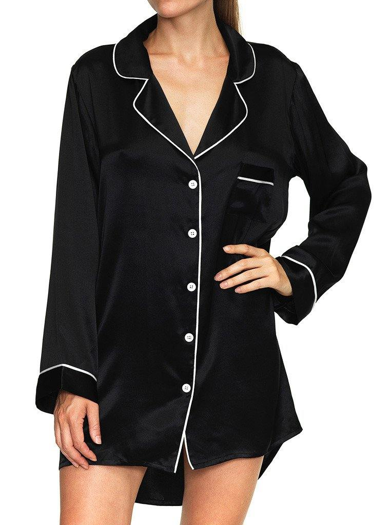KISSKILL SILK SLEEP SHIRT