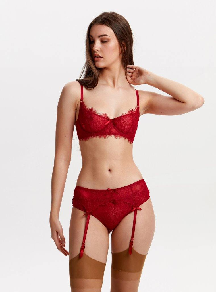 DOLCE SUSPENDER RED