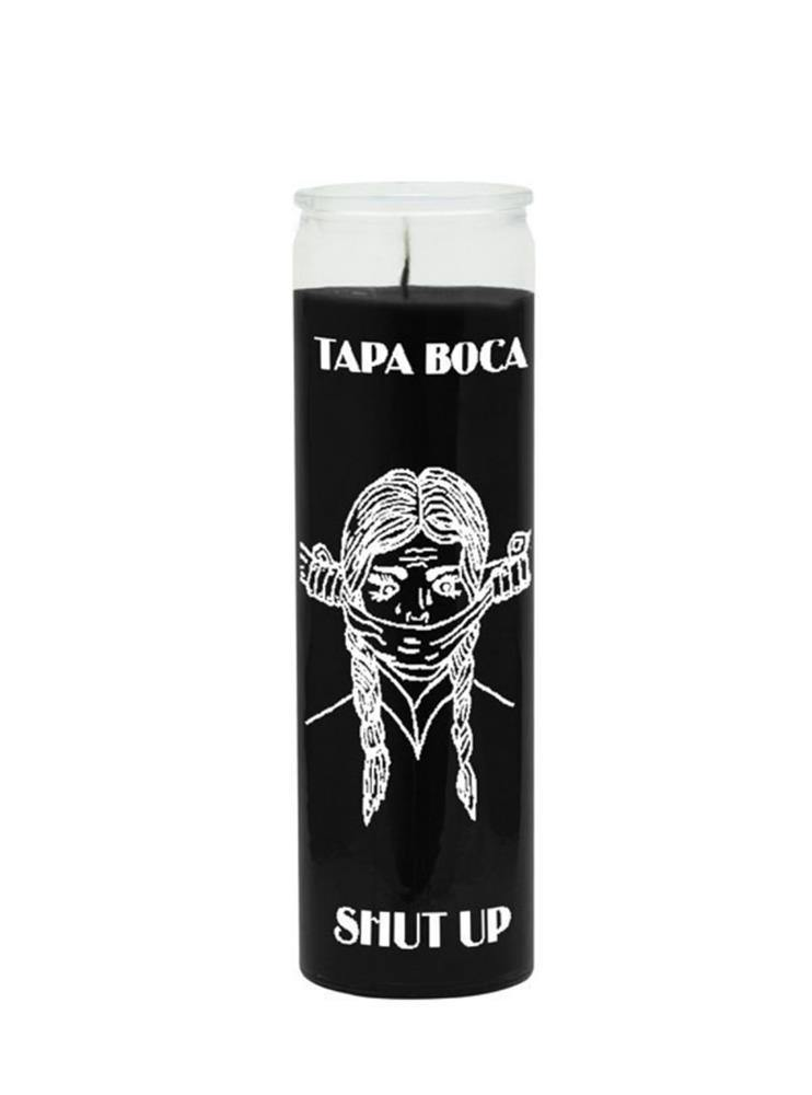 BLACK MAGIC CANDLE SHUT UP