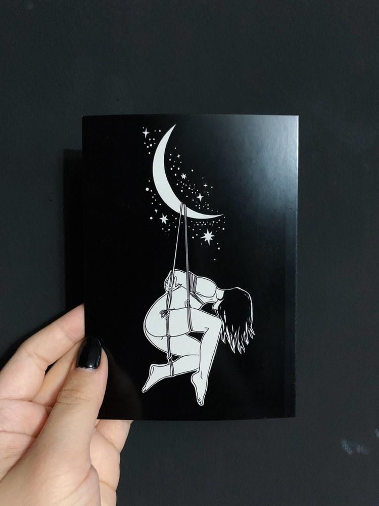 GLAM BECKETT CARDS - Night Shibari