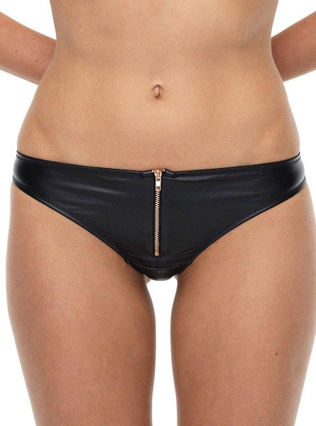 KARLIE ZIP G-STRING