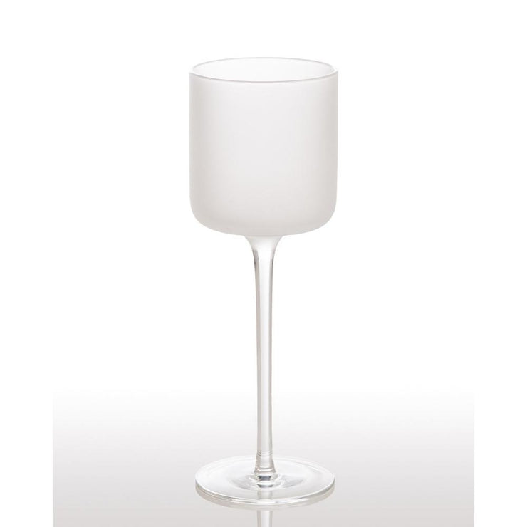 Frosted Wine Glass