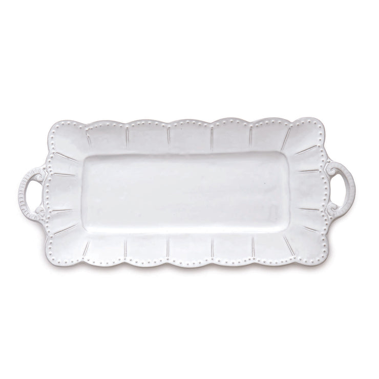 Bella Bianca Rectangular Tray