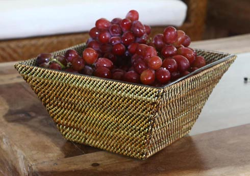 Square Glass Serving Bowl