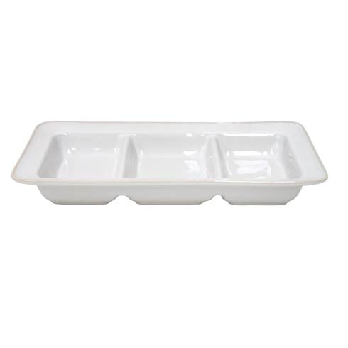 Astoria Triple Tray, White