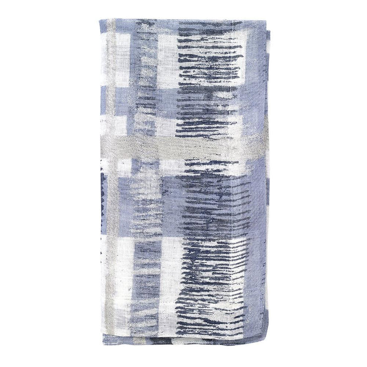 "Contempo 22"" Napkin Ice Blue, Set/4"